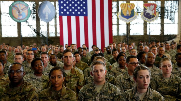 Could US troops soon be tasked with putting on parades on the streets of America?