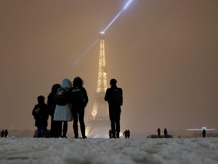 Paris snow 2