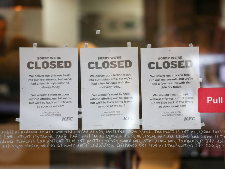 KFC crisis: Almost 300 branches still closed