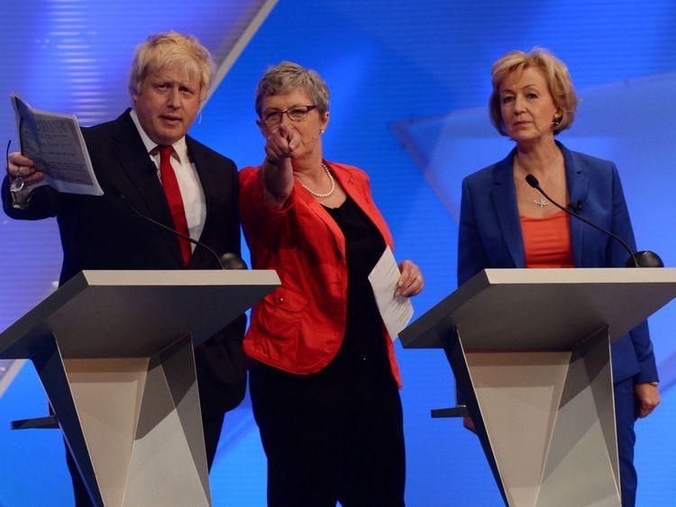 Andrea Leadsom, Boris Johnson, Gisela Stuart