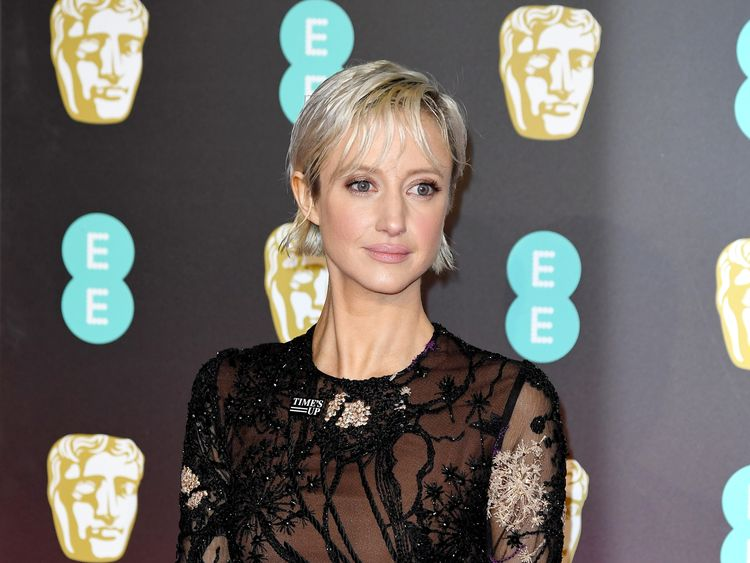 Andrea Riseborough wanted to highlight diversity issues