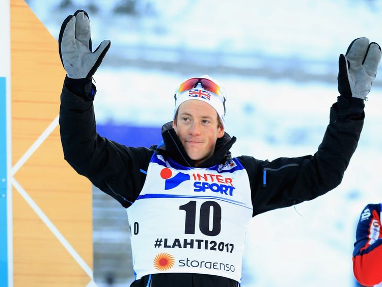 Andrew Musgrave is a medal hope in the Nordic cross country skiing