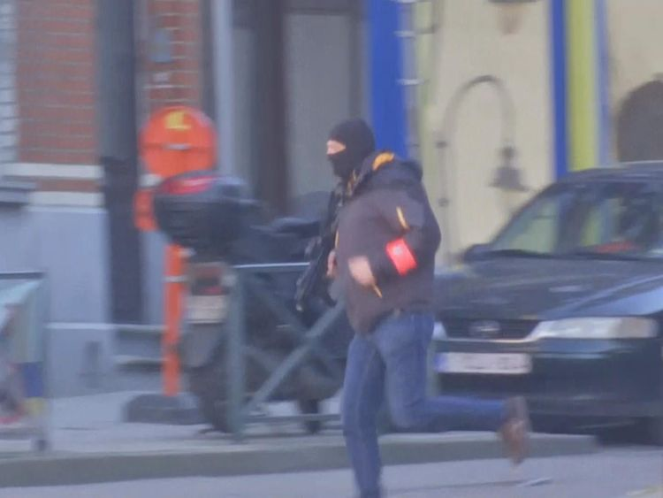 armed police in belgium