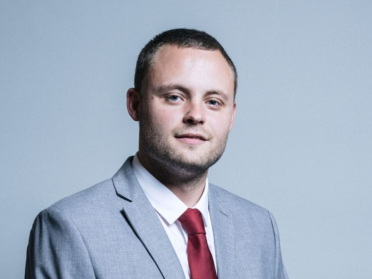 Ben Bradley. Pic: UK Parliament