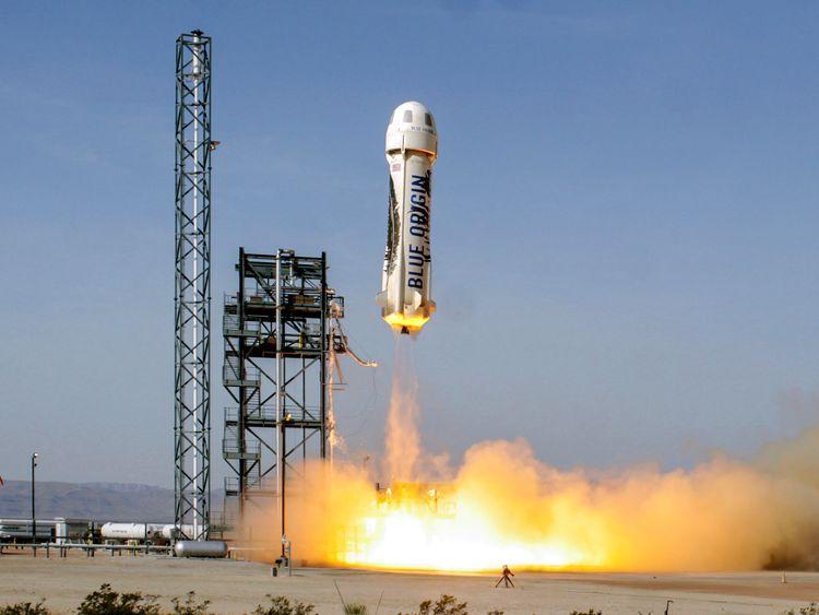 Jeff Bezos' Blue Origin lands rocket