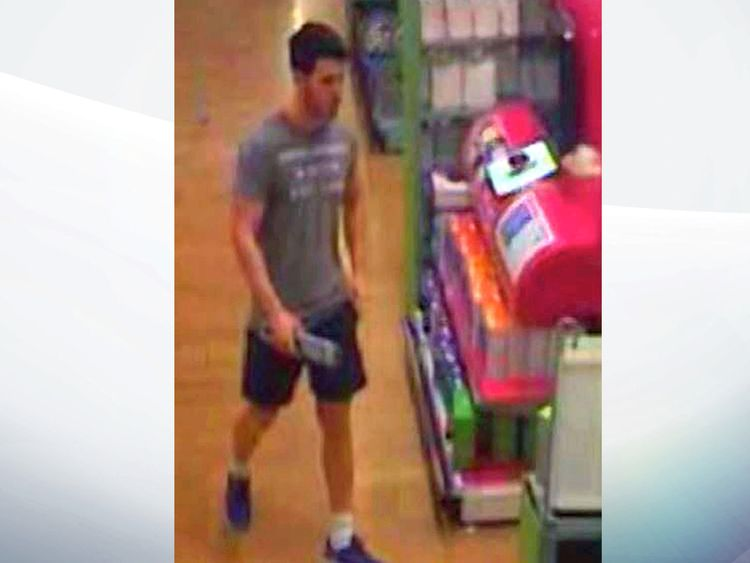 CCTV showed Stimpson buying the knife in a supermarket