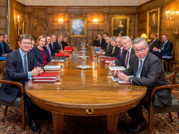 Cabinet ministers met at Chequers to thrash out a Brexit strategy