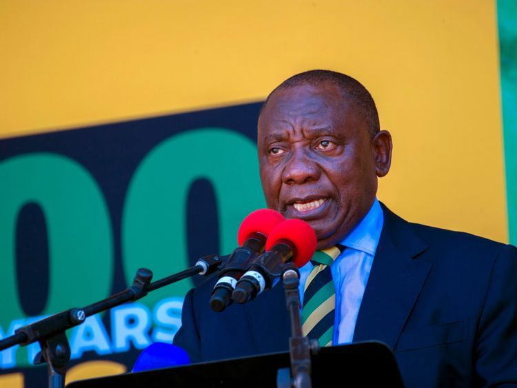 The ANC wants Cyril Ramaphosa to take over from Jacob Zuma