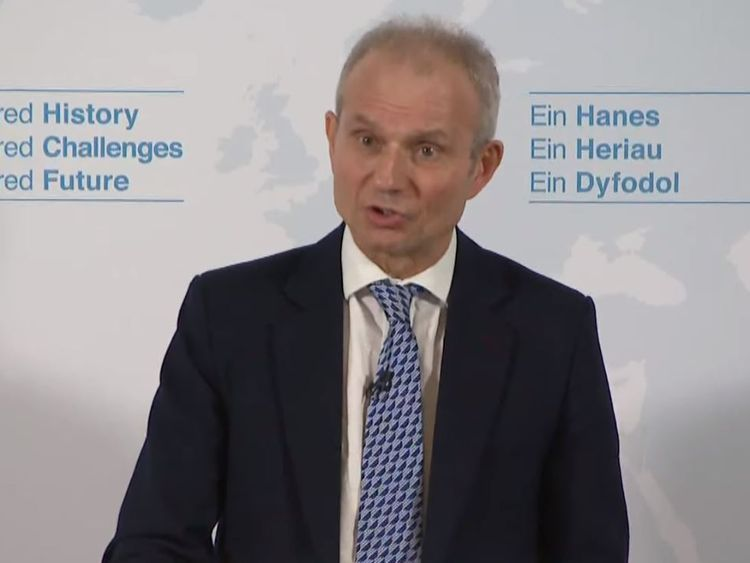 Cabinet Office minister David Lidington