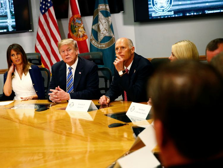 Trump rebukes FBI for bungling tip on Florida school shooting