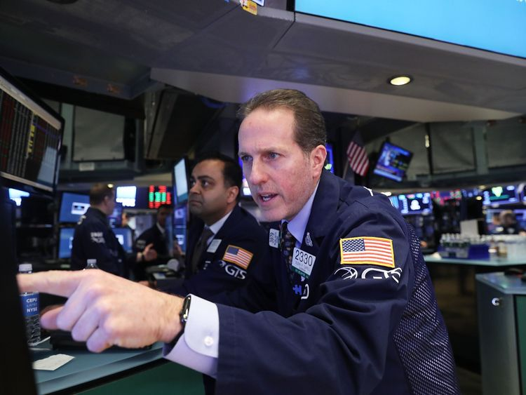 Dow Jones crashes by more than 1,000 points