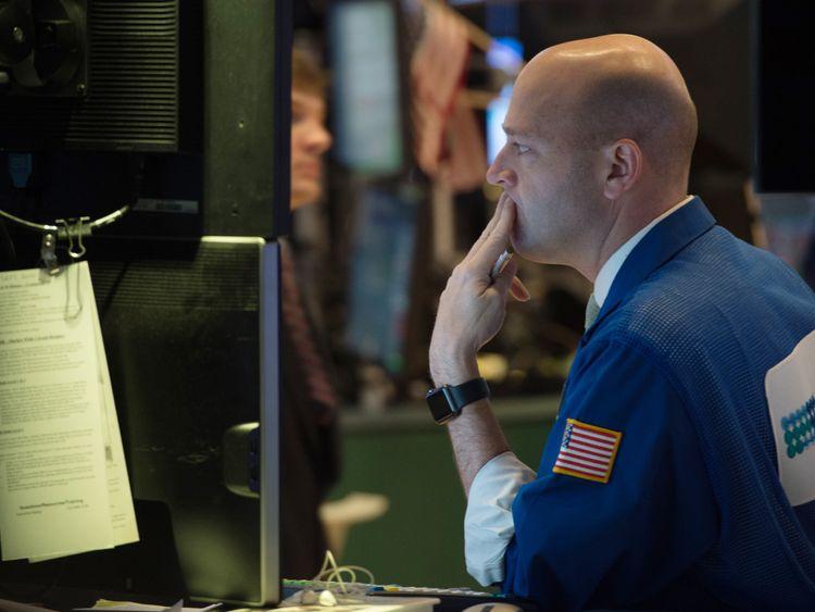 The Dow Jones plummeted on Monday evening