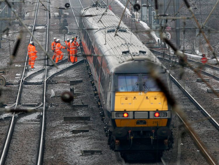 Govt may take control of collapsing East Coast rail