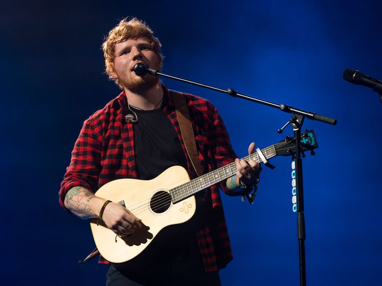 The One: Ed Sheeran is named world