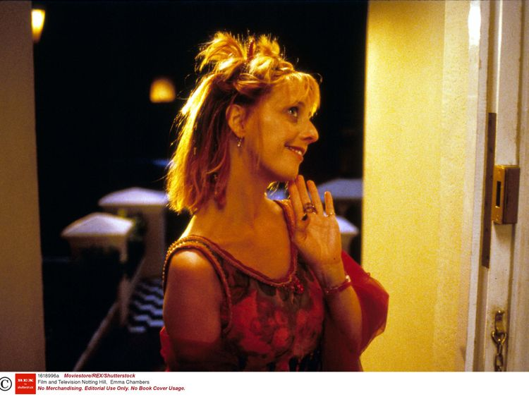 Set 1618996  Image 1618996a  Photographer Moviestore Collection/REX/Shutterstock  Film and Television Notting Hill, Emma Chambers  1999