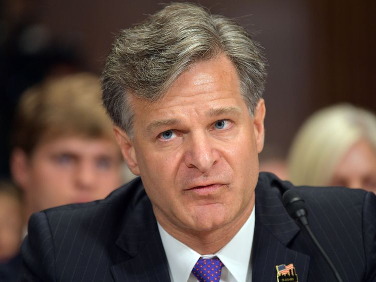 FBI director Christopher Wray is facing calls to resign