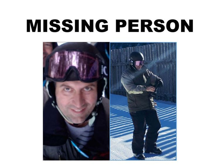 Police issue the poster after he went missing on Tuesday Pic: NYSEC