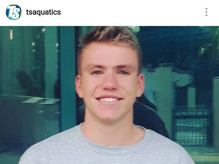 The swimmer was called an 'amazing person' Pic:Instagram/TSaquatics