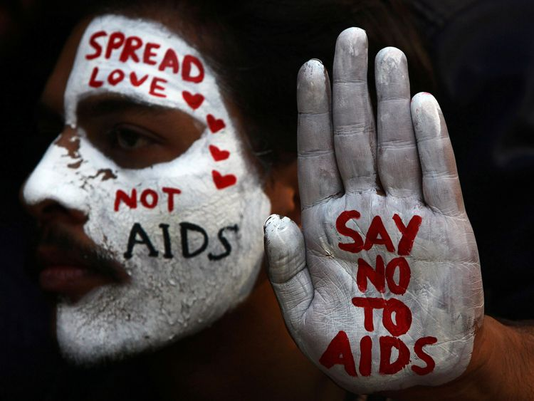 India marks World AIDS Day every December with the country home to 2.1 million people who live with HIV