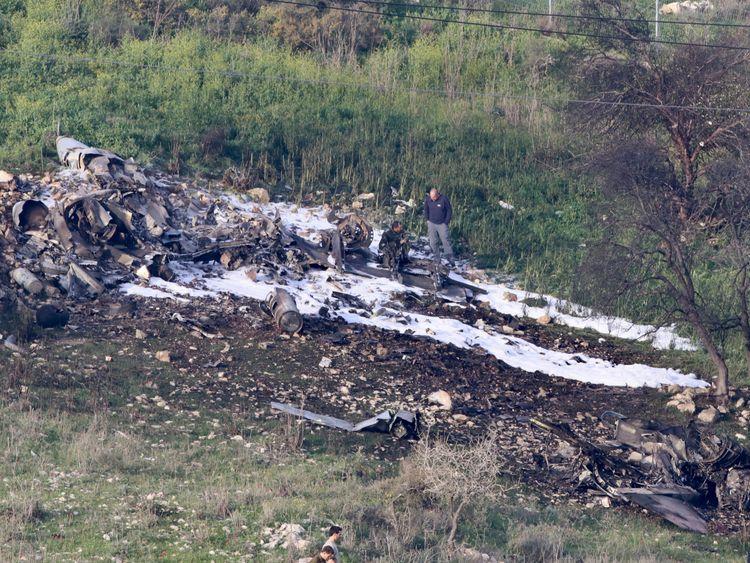 ผลการค้นหารูปภาพสำหรับ syria shot down f-16 israel