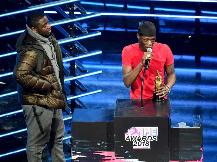 J Hus WON Best Album at the awards Awards 2018