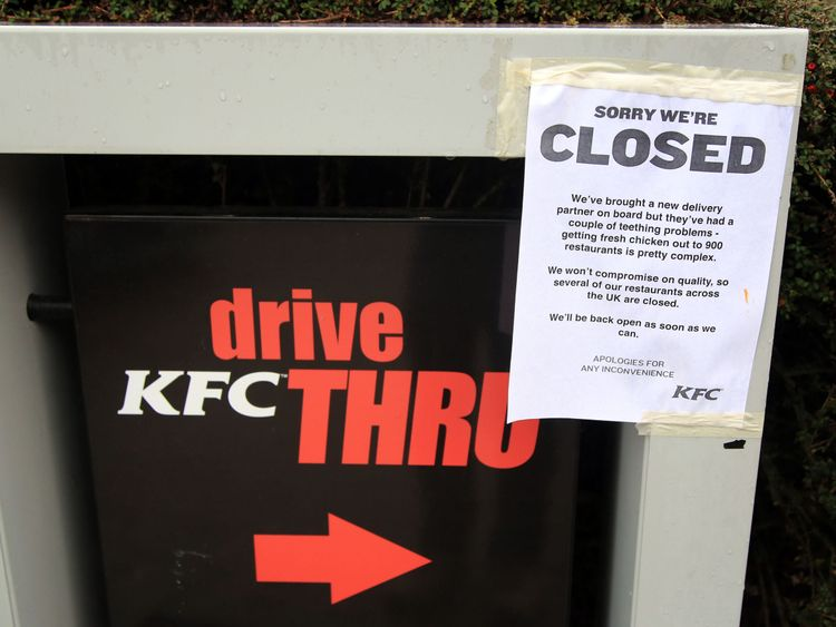 KFC chickens out on DHL after delivery crisis