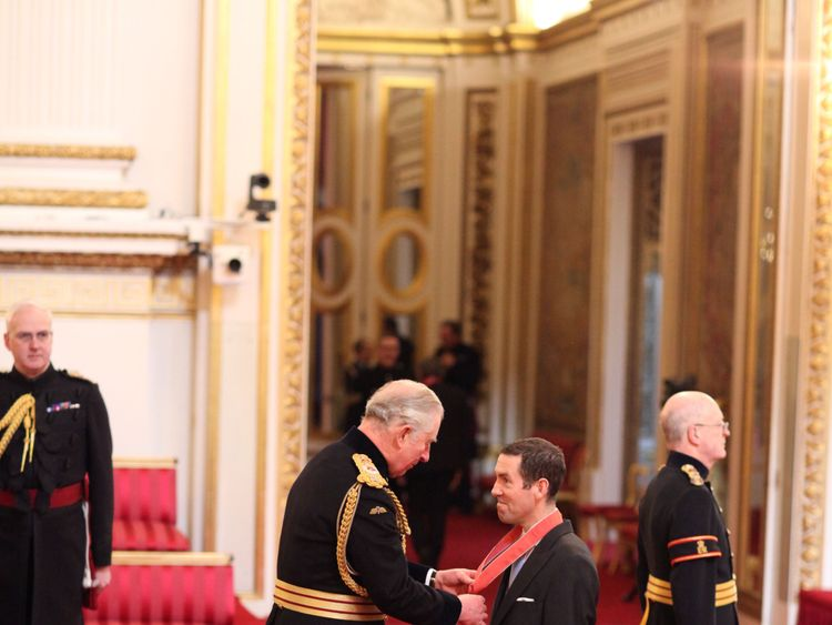 Mr. Alexander Greensill from Chester is made a CBE (Commander of the Order of the British Empire) by the Prince of Wales at Buckingham Palace. PRESS ASSOCIATION Photo. Picture date: Thursday February 8, 2018. Photo credit should read: Yui Mok/PA Wire