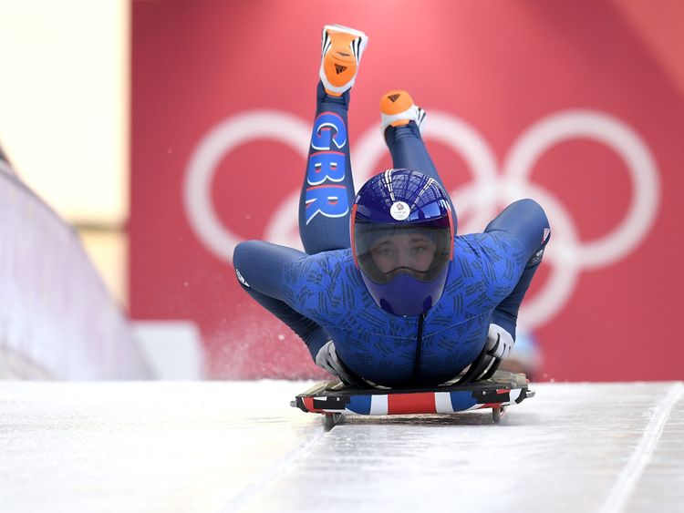Lizzy Yarnold is Team GB's only reigning Winter Olympic champion