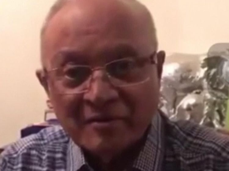 Maumoon Abdul Gayoom was taken from his home by police