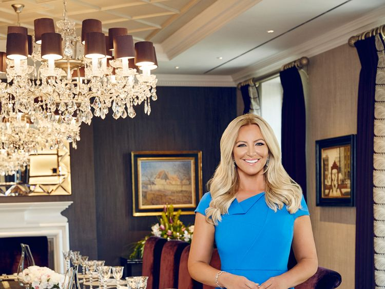Michelle Mone made her millions after starting lingerie company Ultimo with £5,000. Pic: Dan Kennedy