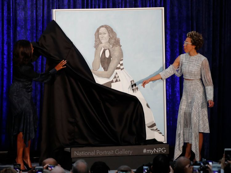 Michelle Obama and Amy Sherald betray the former first ladys portrait