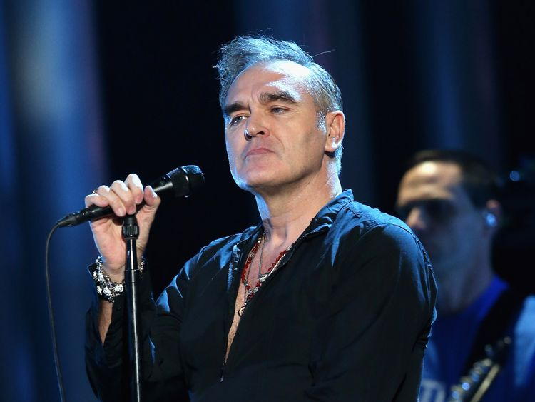 Morrissey fans 'walk out' of gig after Sturgeon jibe