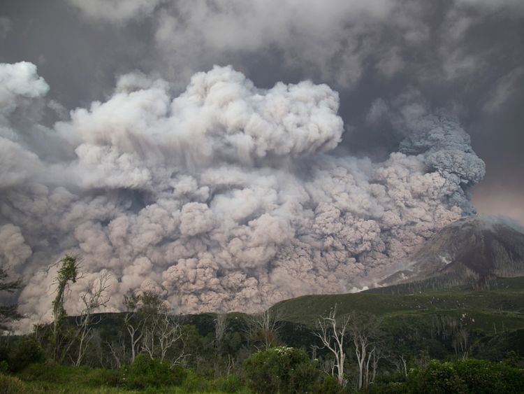 Mount Sinabung roared back to life in 2010 after lying dormant for 400 years
