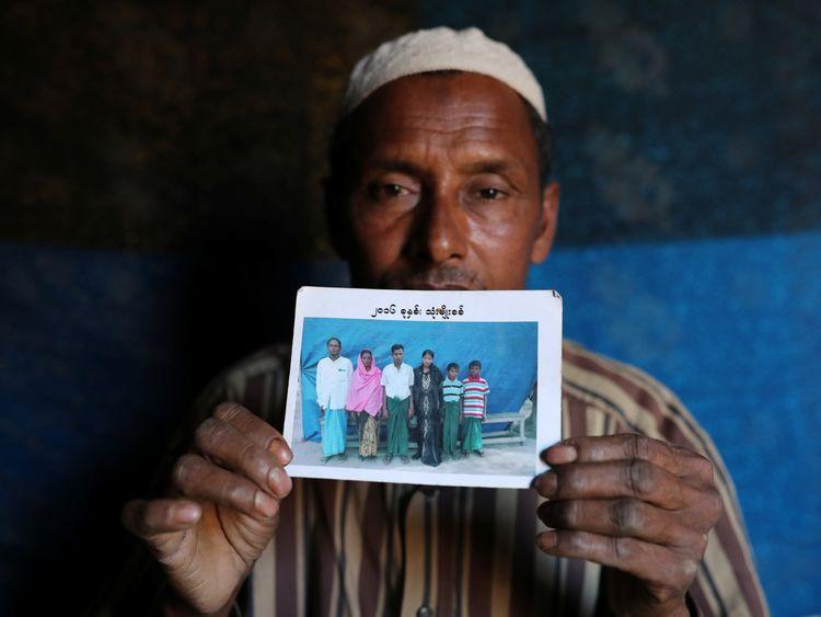 Abdu Shakur, whose son Rashid Ahmed was killed