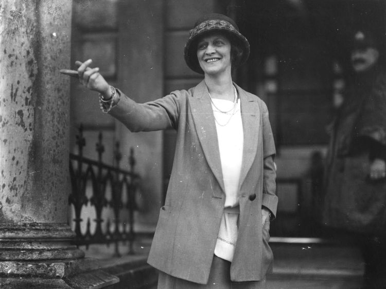 Nancy Astor was the first female MP
