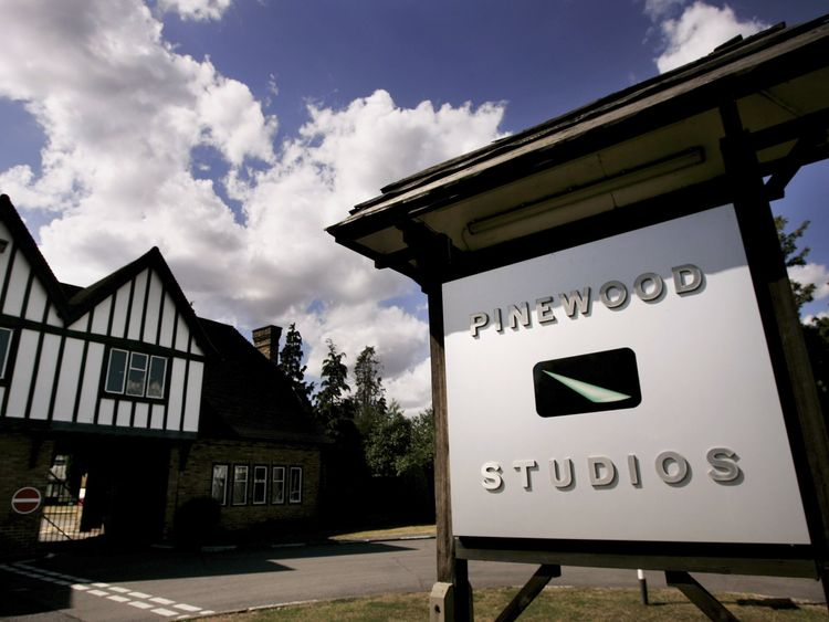 BUKINGHAMSHIRE, UNITED KINGDOM - JULY 30: A general view of Pinewood studios on July 30, 2006 in Bukinghamshire, England. Eight fire engines tackled a blaze at the renowned film studios at the set of the new James Bond film 'Casino Royale' where filming has recently ended, which reportedly housed a replica of Venice. (Photo by Bruno Vincent/Getty Images)