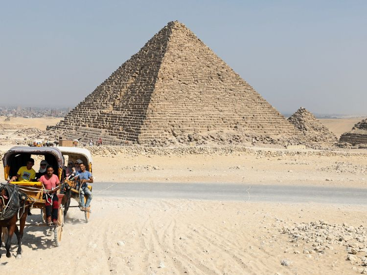 Great Pyramid of Giza can concentrate electromagnetic energy