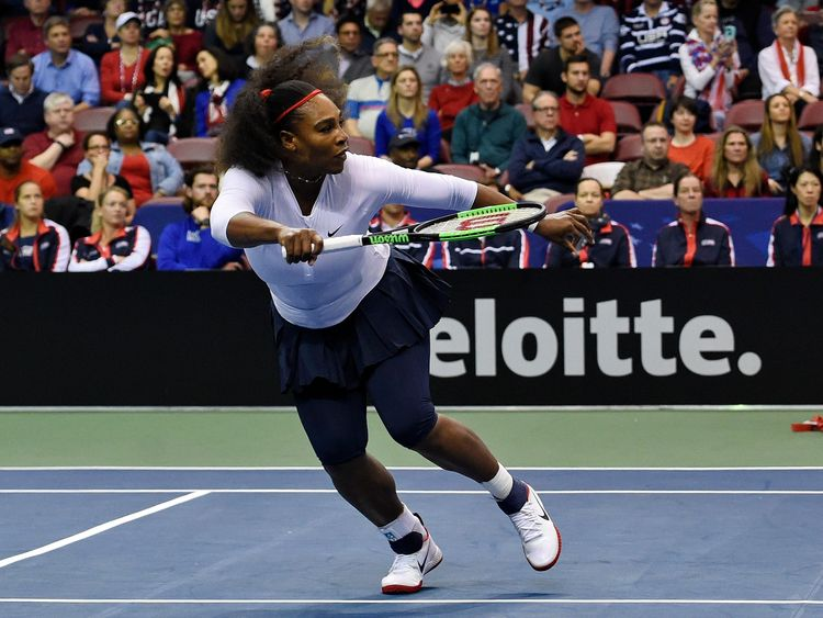 Serena Williams loses in return By