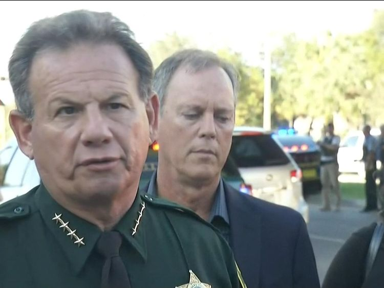 Scott Israel of Broward County explained the search was ongoing