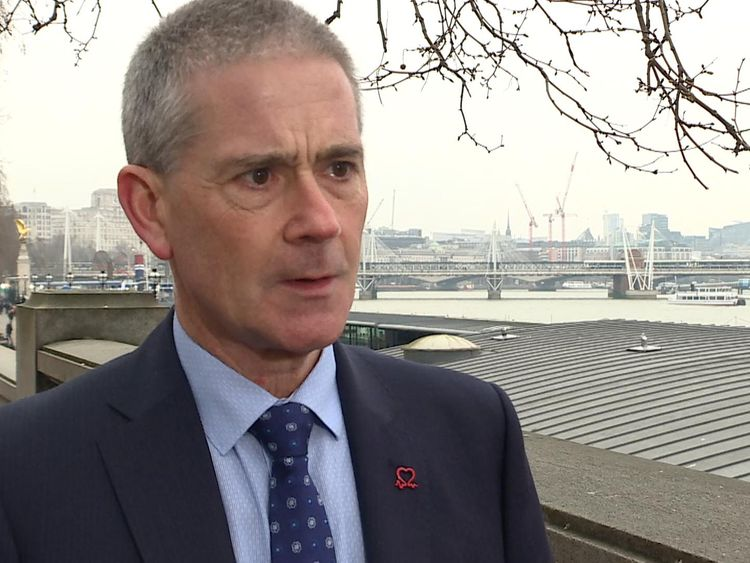 Chief Executive of British Heart Foundation supports the proposed bill