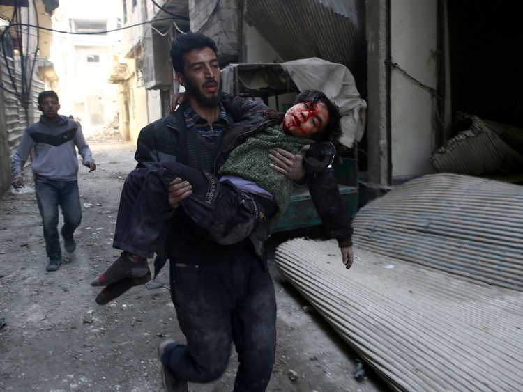 The situation in eastern Ghouta has 'never been worse'
