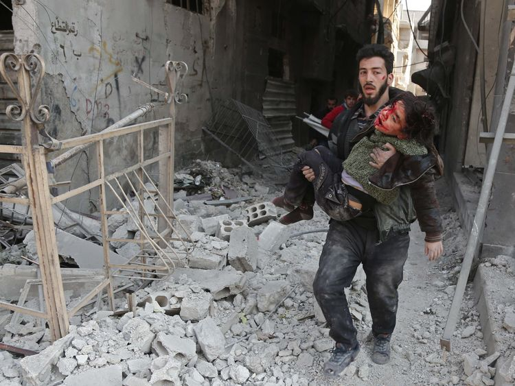 Russia Denies Role in Deadly Air Strikes on Syria's Eastern Ghouta