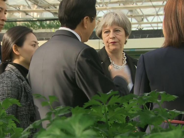 The Prime Minister is on a trade mission to China