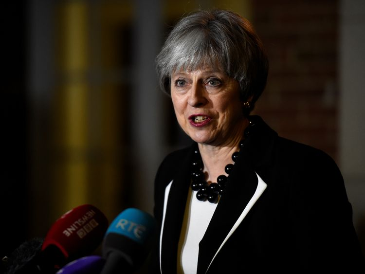 PM's visit to NI 'was distraction' - DUP leader
