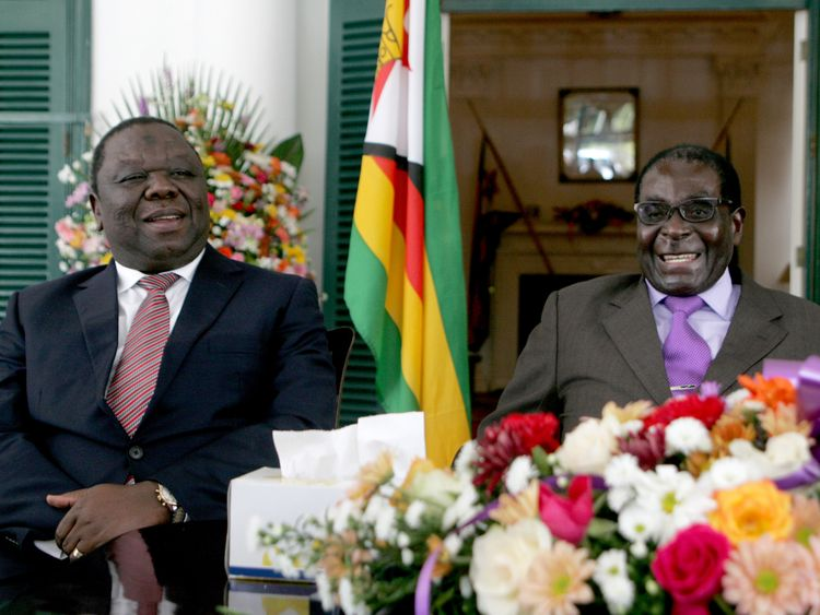 mugabe and tsvangirai relationship test