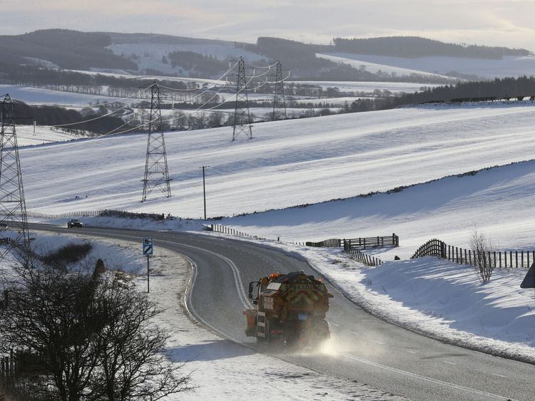 A cold blast is expected to hit the UK that could last until March