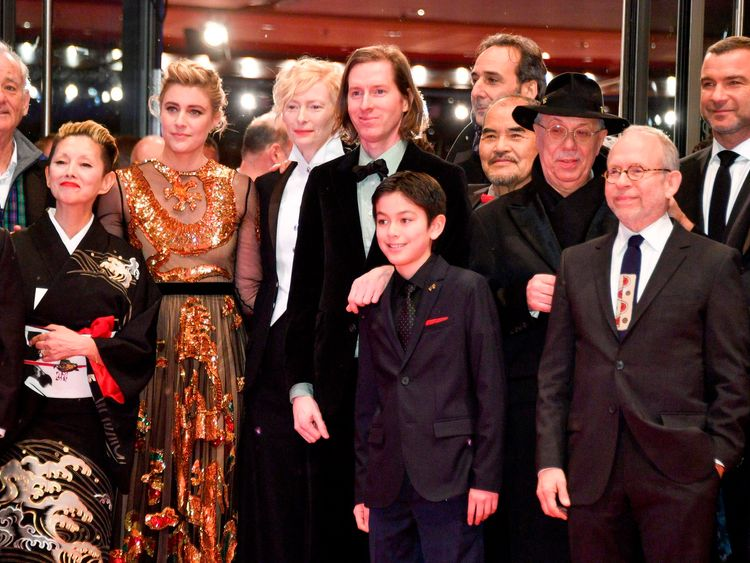 Wes Anderson's new film takes festival by storm