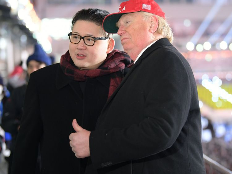 'US President Donald Trump' and 'Kim Jong-un' were surprise attendees as the Games got underway