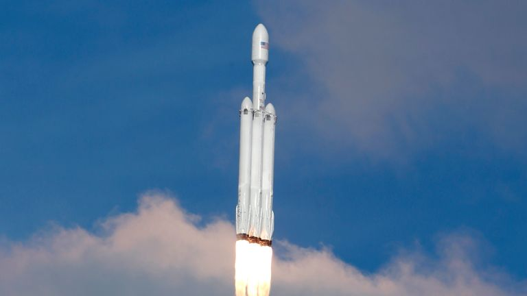 falcon heavy rocket spacex