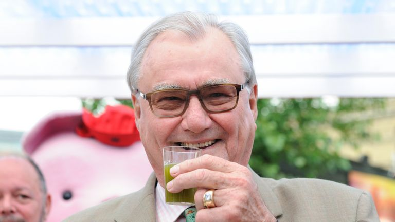 Prince Henrik was know for his love of food and wine